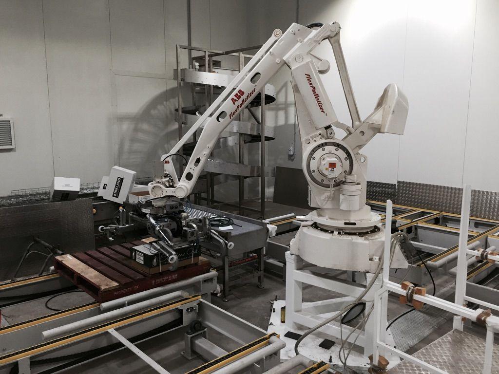 Australian Lamb Robot Palletizer